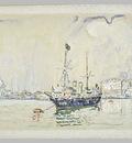 Bateau Pavoise dans la Lagune de Venise