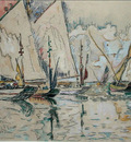 Departure of Three Masted Boats at Croix de Vie