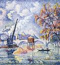 flood at the pont royal paris