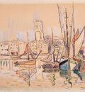 sailboats at a pier in honfleur