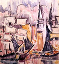 Sailing Boats in a Port