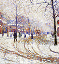 snow boulevard de clichy paris
