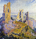 the ruins of grimaud