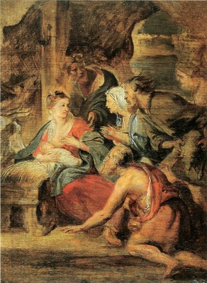 adoration of the shepherds 1621