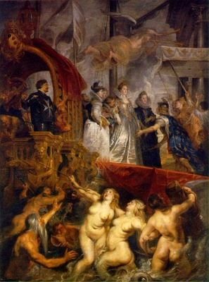 arrival of marie de medici at marseilles 1622