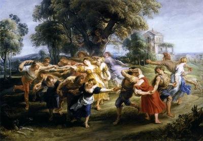 dance of italian villagers