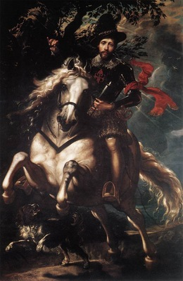equestrian portrait of giancarlo doria