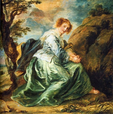 hagar in the desert 1630