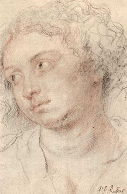 head of woman 1630