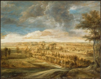 Landscape with an Avenue of Trees