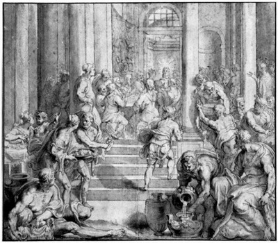 last supper 1625