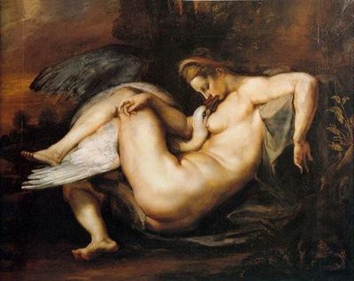 leda and swan  1598