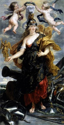 marie de medicis as bellona 1622