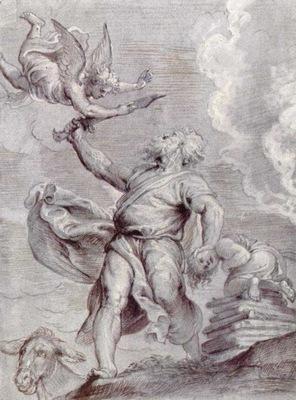 sacrifice of abraham 1600