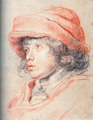 son nicolas with a red cap 1625