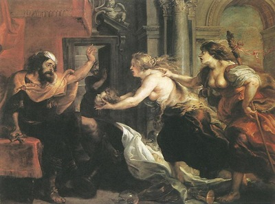 tereus confronted with the head of his son itylus 1636