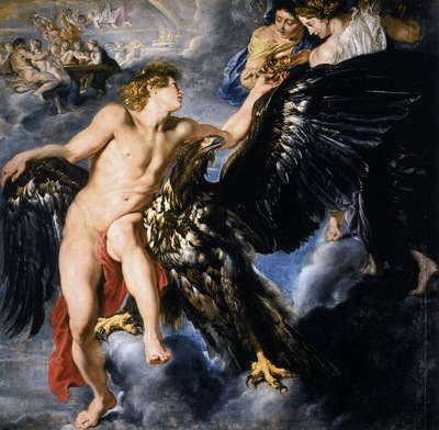 the abduction of ganymede 1611