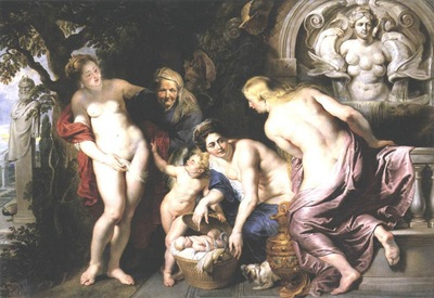 the discovery of the child erichthonius