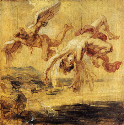 the fall of icarus 1636
