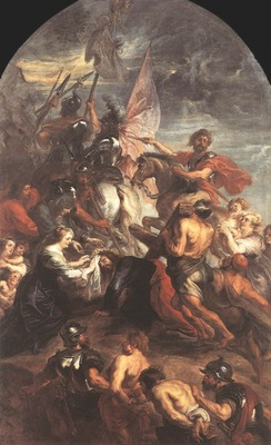 the road to calvary 1634