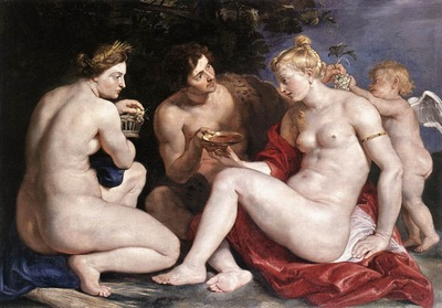 venus cupid baccchus and ceres 1612