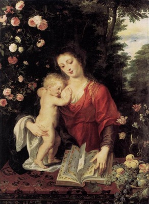virgin and child 1624