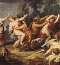 diana and her nymphs surprised by the fauns 1638