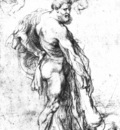 hercules crowned by genii