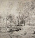 landscape with a trees 1630