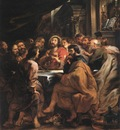 last supper 1631