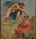 mercury and a sleeping herdsman 1632