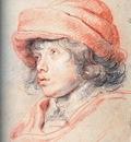 son nicolas with a red cap 1625