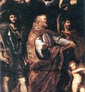 St George with St Maurus and Papianus