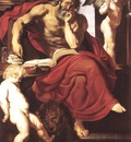 st jerome in his hermitage 1608