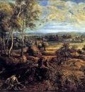 summer landscape with het steen views