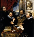 the four philosophers 1611