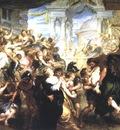the rape of the sabine women 1635