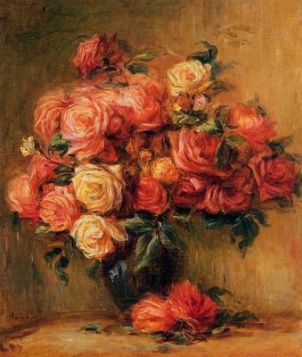 bouquet of roses 1890