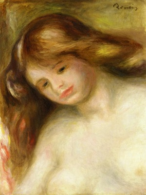 bust of a young nude 1902