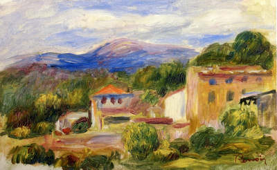 cagnes landscape 1904