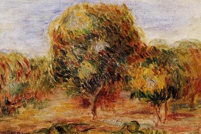 cagnes landscape 1907