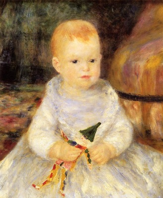 child with punch doll also known as pierre de la pommeraye 1874