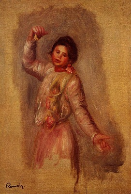 dancer with castenets