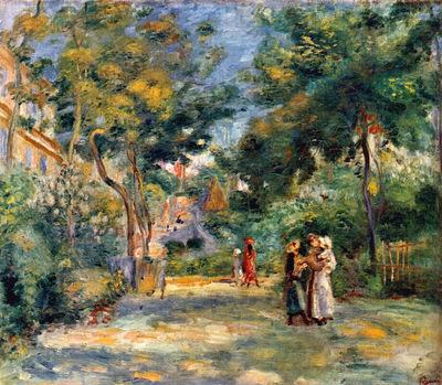 Figures in a Garden