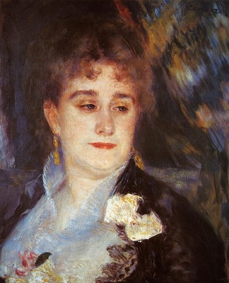 first portrait of madame georges charpeitier 1876