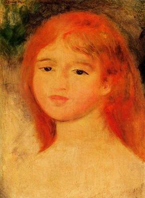 girl with auburn hair