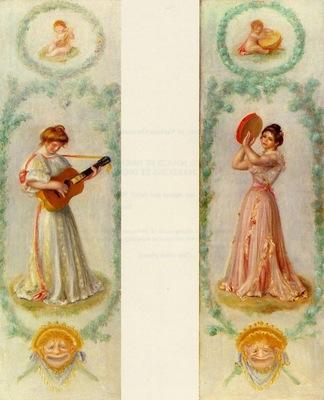 la musique two paintings