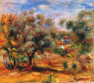 landscape near cagnes 1909