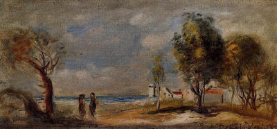 landscape after corot
