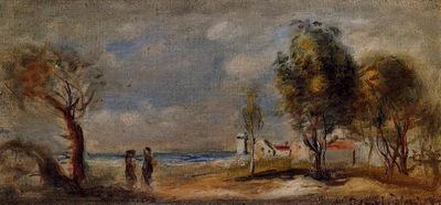 landscape after corot